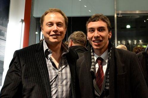 Elon Musk e Federico Lagni