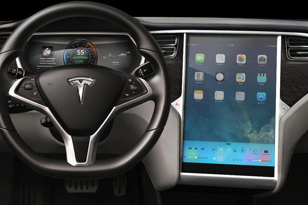Tesla Apple Dashboard