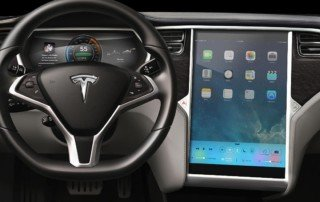Tesla Apple Dashboard