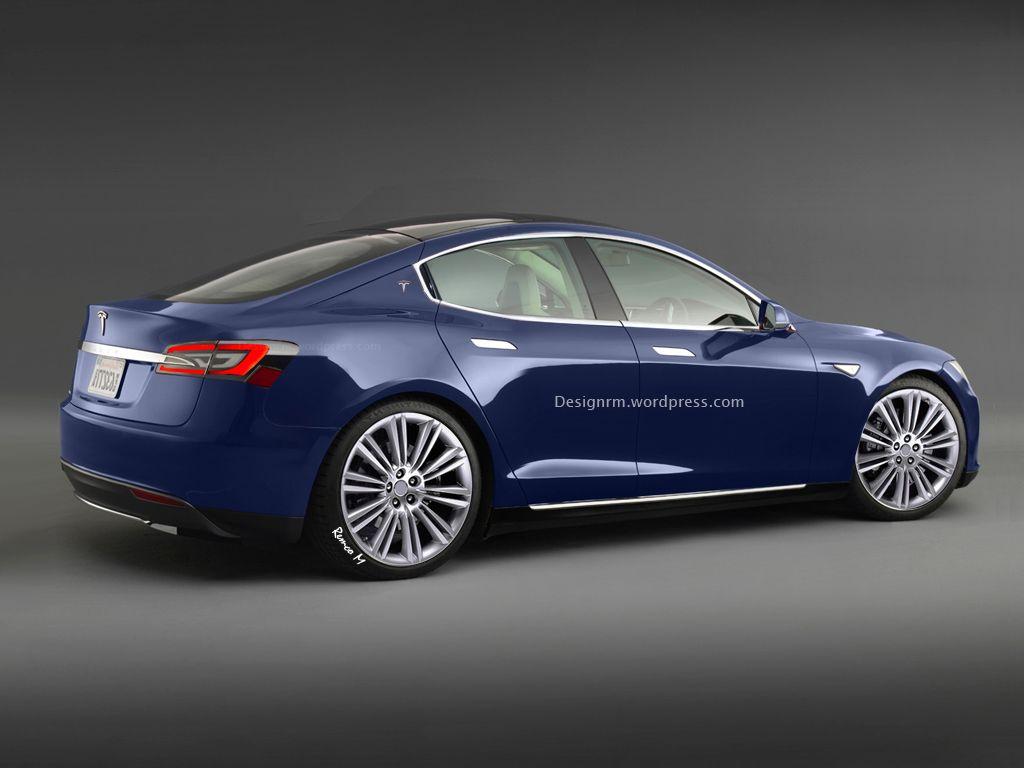 Rendering Tesla Model E