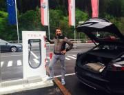 Tesla St Anton Supercharger