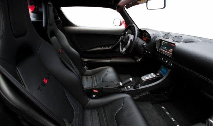 Gli interni della Tesla Roadster