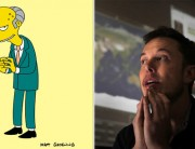 Mr Burns vs Elon Musk