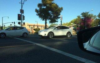 Avvistamento della Tesla Model X