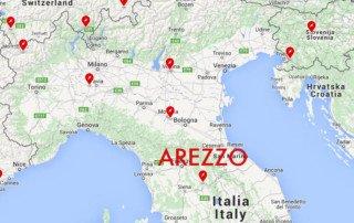 Tesla Supercharger ad Arezzo