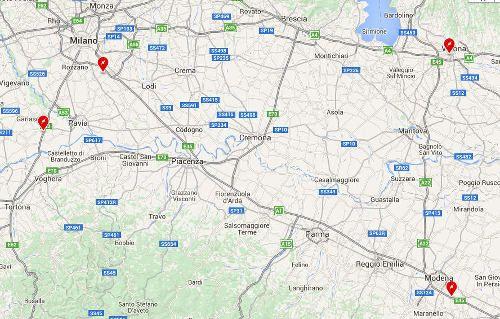 Tesla Supercharger di Melegnano a Milano
