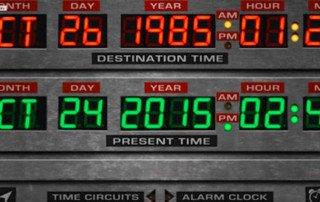 Back to the future... in a Tesla - Ritorno al futuro nella Tesla