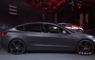 Ecco la Tesla Model 3