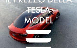 Il prezzo della Tesla Model 3