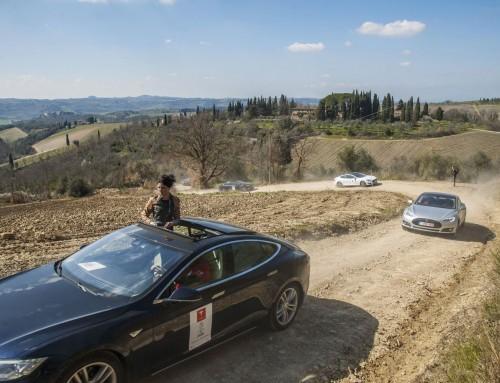Nel Chianti, il III raduno internazionale di Tesla Model S e Model X