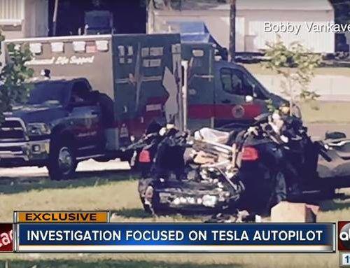 La responsabilità dell'incidente mortale con il pilota automatico Tesla