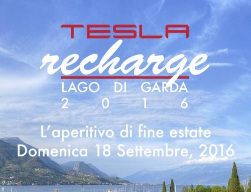 Tesla Recharge, al Lago di Garda l'aperitivo di fine estate di Tesla Club Italy
