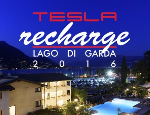 Aperte le iscrizioni a Tesla Recharge 2016, l'aperitivo sul Lago di Garda per appassionati Tesla