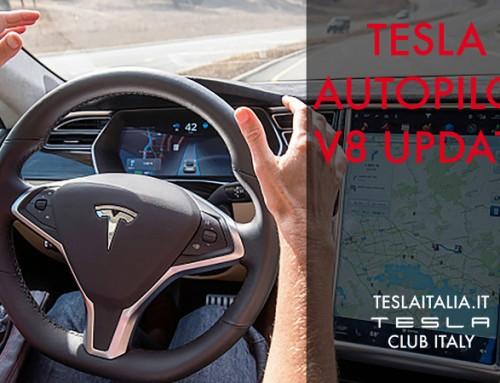 L'autopilot Tesla 8.0 utilizza il radar per evitare le collisioni