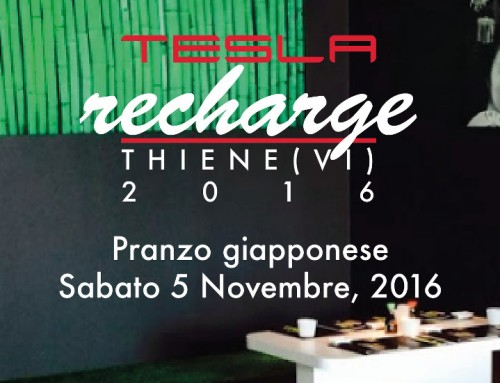 Tesla Recharge 2016 a Thiene (Vicenza)