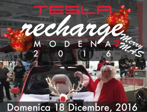 Tesla Recharge 2016 a Modena