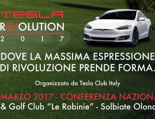 Partecipa a Tesla Revolution 2017, la conferenza nazionale dedicata a Tesla