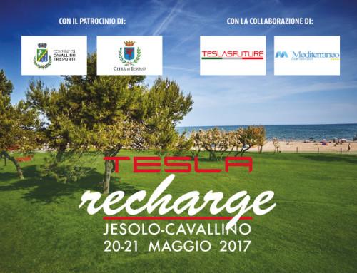 Tesla Recharge 2017 a Jesolo e Cavallino Treporti: Tesla Club Italy, in collaborazione con Teslasfuture, si incontra al mare per una due giorni completamente elettrica