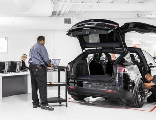 Tesla Service Center, presente e futuro
