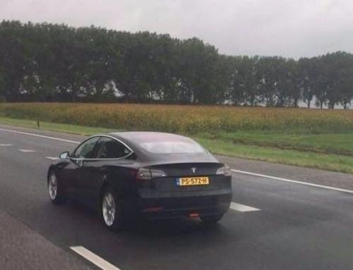Tesla Model 3 già arrivata in Europa