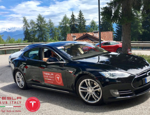 Tesla Club Italy alla gara Trento-Bondone 2017