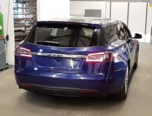 Ecco la prima Tesla Model S station wagon