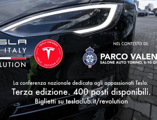 Tesla Club Italy Revolution 2018, a Torino la rivoluzione elettrica