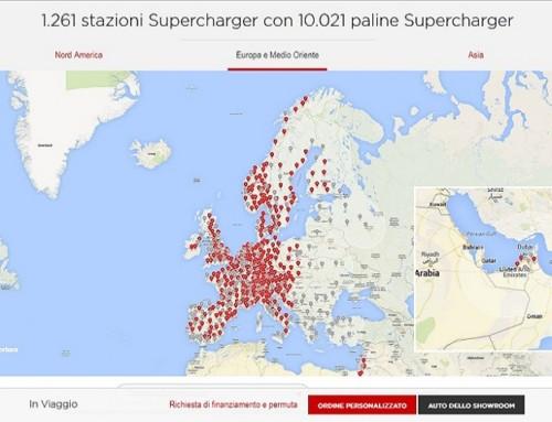 Tesla Supercharger oltre quota 10mila e nuovi Destination Charging per i Mondiali 2018